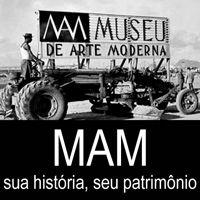 MAM: sua história, seu patrimônio - exposição de longa duração - Museu de Arte Moderna do Rio de Janeiro (MAM RJ) -  Av. Infante Dom Henrique, 85 -  Aterro do Flamengo -  (21) 2240 4944