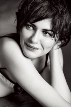 Audrey Tautou // Photography by Max Vadukul for Elle Magazine Belgium, April 2009
