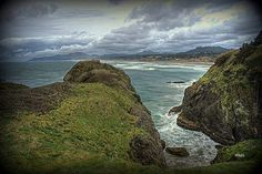 Oregon sea coast