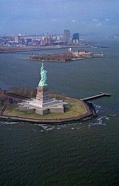 La Libertad & Isla Ellis NYC