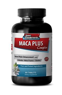 Maca extract - Maca Plus Complex - Increases libido (1 Bottle - 60 Tablets) ** Learn more by visiting the image link.  This link participates in Amazon Service LLC Associates Program, a program designed to let participant earn advertising fees by advertising and linking to Amazon.com.