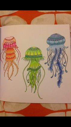 88 Best Lost Ocean Pages 21 22 Jellyfish Images On Pinterest