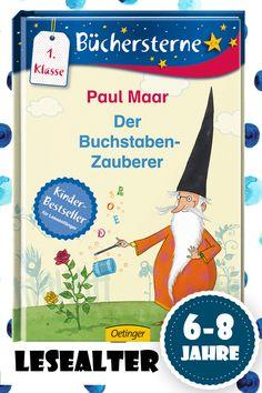 Ein schönes, lustiges Buch für Leseanfänger von Paul Maar, bei dem man ganz von selbst Neues lernt. Zauberei!