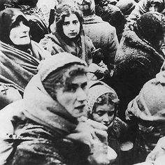 The Jewish Last Journey. They sit and await death in the gas chambers. Imagine knowing, that your life is about to end...painfully, slowly