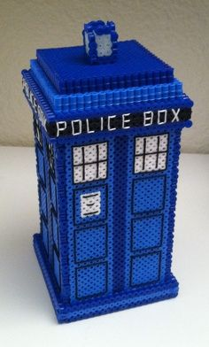 Doctor Who melted beads