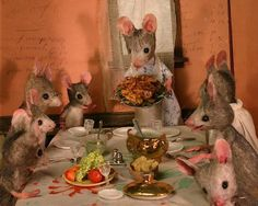 Mouse Party by Maggie Rudy
