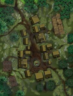 Small Town001RAH | Roll20 Marketplace -- art assets, tokens, maps, modules, and more for virtual tabletops and role playing games