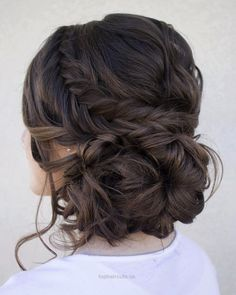 Loose Low Updo With Fishtail… Loose Low Updo With Fishtail http://www.tophaircuts.us/2017/05/14/loose-low-updo-with-fishtail/