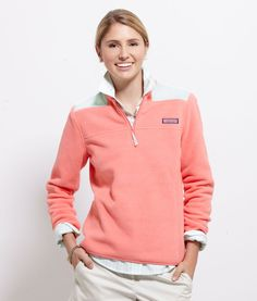 Vineyard Vines Women's Fleece Shep Shirt...Oh how I need one of these :)