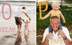 Make your own personalized ABC book using your photos!