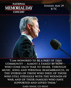 memorial day tribute gary sinise