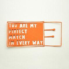 perfect match .:. paper cut