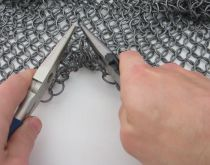 One step closer to the Mad Max Halloween costume of my dreams! DIY Hacks & How To's: Chainmail