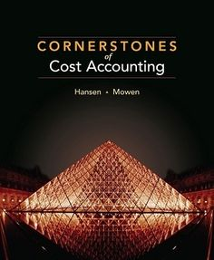 Rest assured that 95 free test bank for Cornerstones of Cost Accounting 1st Edition by Hansen Multiple Choice Questions will give you an overview of all the most vital basics in the textbook.