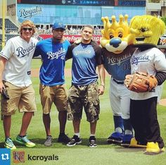 Wichita State Day at the Royals game