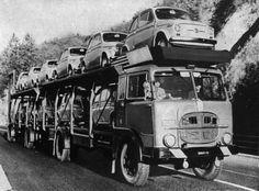 Fiat 682 Bisarca - Fiat 500's