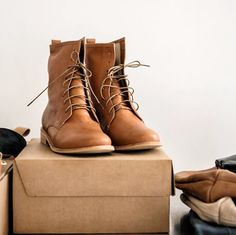 Lily Paige Leather Boots | Ethical Fashion | Fair Trade | MadeFAIR