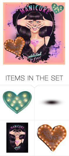 """MANICURE- Lady GaGa"" by queenofmischief ❤ liked on Polyvore featuring art"