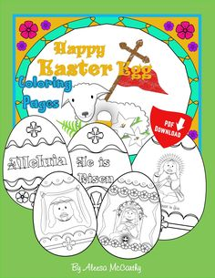 25 Printable and DIY Easter Basket Ideas for Quarantined Catholics – To Jesus Sincerely Catholic Easter, Catholic Kids, Easter Egg Coloring Pages, Images Of Christ, Rose Art, Easter Crafts For Kids, Easter Baskets, Happy Easter, Embroidery Patterns