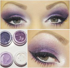 Purple Eye - #purpleeyes #purple #eyemakeup #eyeshadow #purpleshadow #coloroftheyear #radiantorchid #desertwinds - bellashoot.com
