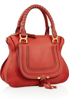 Chloé|Marcie Medium leather tote|NET-A-PORTER.COM