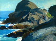 Rocky Shore, 1916-19Edward Hopper