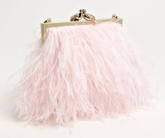 Kate Spade Belle Elliana Feather Clutch - love pink and Kate Spade - this clutch is awesome Champaign Pink, Kate Spade Outlet, Bride Book, Pink Feathers, Kate Spade Bag, Wedding Season, Evening Bags, Wedding Accessories, Pink And Gold