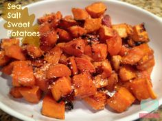sea salt sweet potatoes