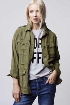 Photo 2 of PETITE Lightweight Shirt Jacket