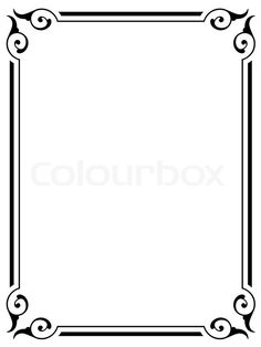 simple frame border vector simple victorian border google search 24 best frame clipart images on pinterest in 2018 page borders