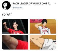 Haikyuu Funny, Haikyuu Manga, Haikyuu Fanart, Haikyuu Ships, Kuroo Tetsurou, Haikyuu Karasuno, Kenma, Kagehina, Memes