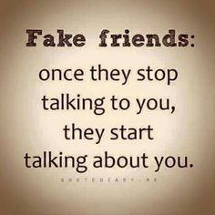 #fakefriends  #gossips