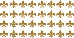I am thinking FOOTBALL :) Wedding Decoration Vinyl Fleur de lis set/30 icons 2x2 by nlcorder,