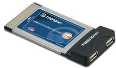 TRENDnet 2-Port USB 2.0 PC Card TU2-H2PC by TRENDnet. $21.45. This 2-Port USB 2.0 Host PC Card gives your Laptop PC two USB 2.0 ports so you can easily connect your peripherals and enjoy the benefits of high-speed USB 2.0