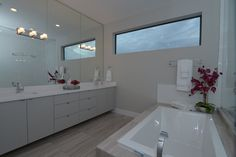 Clean and sleek - the envy of every bathroom!