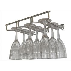 Found it at Wayfair - Sectional Wine Glass Hanger