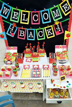 Back to School Party Ideas and a Fun Party Favor