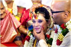 South Indian Bride At Indian Wedding Ceremony Indian Marriage, Indian Wedding Ceremony, Traditional Indian Wedding, Wedding Rituals, South Indian Bride, Indian Weddings, Bollywood Fashion, Indian Outfits, Wedding Inspiration