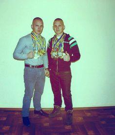 Лейтенант-десантник Олександр Рибак та курсант Руслан Раков стали чемпіонами Європи з універсального бою!