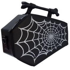 online shopping for Kreepsville 666 Spiderweb Coffin Purse Spider Web Casket Theme Handbag Kreepsville Halloween from top store. See new offer for Kreepsville 666 Spiderweb Coffin Purse Spider Web Casket Theme Handbag Kreepsville Halloween Fendi, Gucci, Patches, Gothic Outfits, Casket, Coffin, Bag Accessories, Purses And Bags, Bags