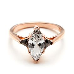 Coming Up Roses: Rose Gold Engagement Rings... Anna Sheffield