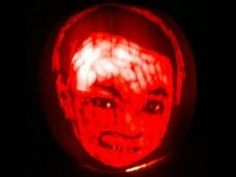 Betty's Husband, Rick, Carves a Halloween Jack-O'Lantern with Carter