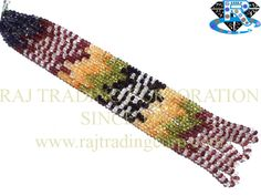 Multi Faceted Roundel (Quality A) (Iolite Garnet Crystal Citrine Peridot Black Tourmaline) Shape: Roundel Faceted Length: 38 cm Weight Approx: 9 to 11 Grms. Size Approx: 4 to 4.5 mm Price $14.40 Each Strand