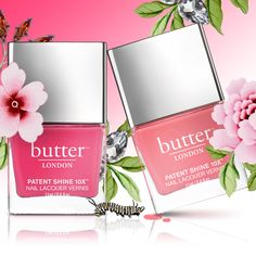 Spring Duo: Flusher Blusher & Coming Up Roses PS10X Nail Lacquer | Butter LONDON