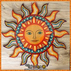 """Обереги, талисманы, амулеты ручной работы. Ярмарка Мастеров - ручная работа. Купить """"Солнышко"""" настенный амулет. Handmade. Солнце"""