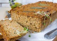 Pasztet jaglano-pieczarkowy Meatloaf, Banana Bread, Desserts, Food, Tailgate Desserts, Deserts, Meat Loaf, Meals, Dessert