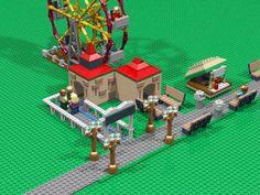 Roller Coaster Tycoon style Amusement Park by justinbeiberispoop on Imgur.com