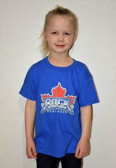 Toronto Rock Toddler Logo Tee (Blue) - https://teamshop.torontorock.com/collections/youth/products/toddler-logo-tee-blue