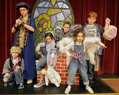 cast presents all kids production of best christmas pageant ever