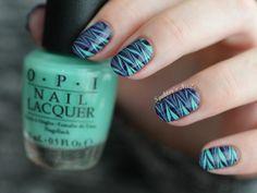 I love that nail polish! Get Nails, Love Nails, How To Do Nails, Pretty Nails, Hair And Nails, Purple Nail, Cute Nail Art, Beautiful Nail Art, Nail Manicure